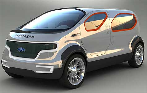 Ford Airstream Concept Plug-In Hybrid Hydrogen Vehicle