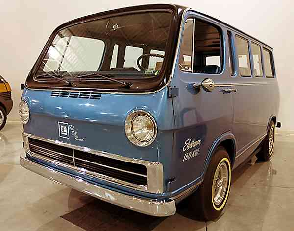 1966 GM Electrovan - First Hydrogen Fuel Cell Vehicle ...