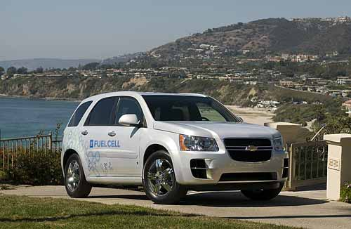 GM Chevrolet Equinox Fuel Cell Hydrogen Vehicle