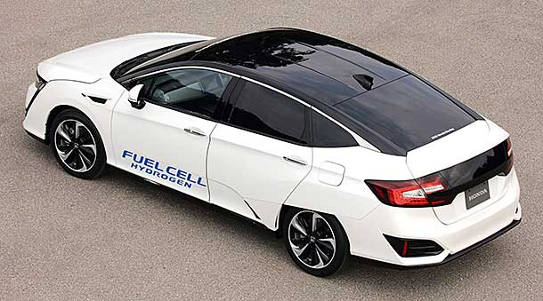 On March 10 2016 Honda Began Selling The 2017 Clarity Fuel Cell In Japan Is Hondas Latest Offering World Of