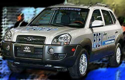 Hyundai Tucson Hybrid FCEV