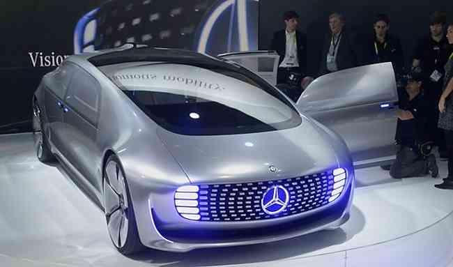 Mercedes benz f015 fuel cell concept car hydrogen cars now for Mercedes benz hydrogen car