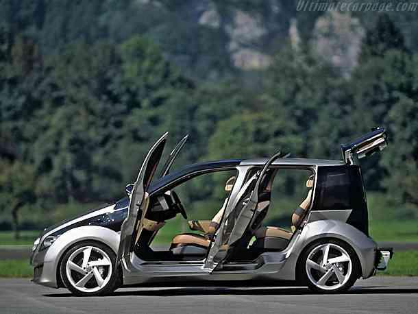 Daimlerchrysler mercedes f600 hygenius hydrogen cars now for Mercedes benz hydrogen car