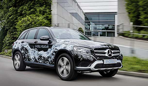 Mercedes benz glc f cell fuel cell plugin hybrid review for Mercedes benz fuel cell
