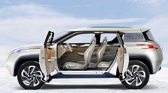 This Suv Is A 4 Wheel Drive Car And Offers Pair Of Motors Each One Added To The Wheels Helps Terra Tear Around Sharp Corners