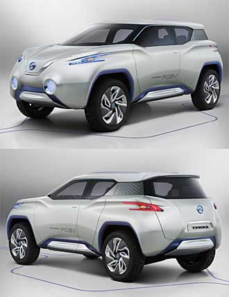 Nissan Terra Suv Concept Fuel Cell Vehicle Review Hydrogen Cars Now