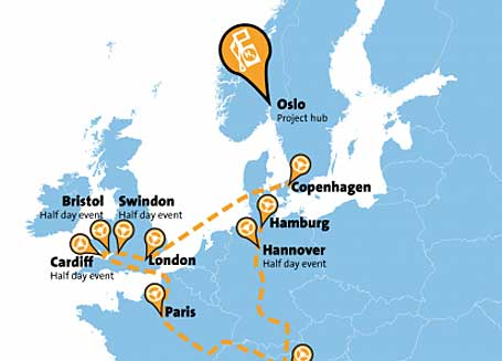 European Hydrogen Road Tour 2012