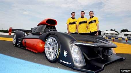 GreenGT FCV Racecar
