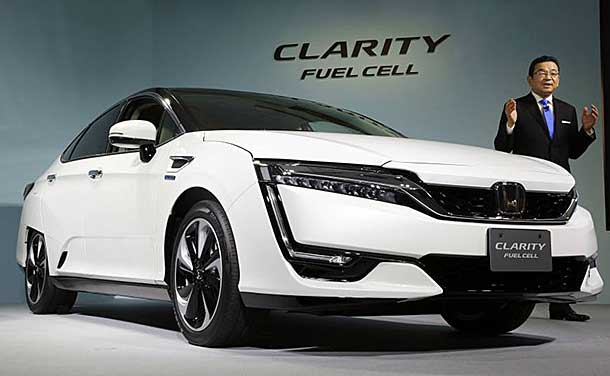 The 2017 Honda Clarity Fuel Cell Hydrogen Car Has Gone On Today March 10 2016 So Write This Down In Your Journal As Expects To Be A Significant