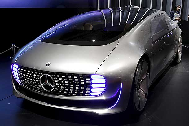 Autonomous hydrogen fuel cell vehicles update hydrogen for Mercedes benz fuel cell