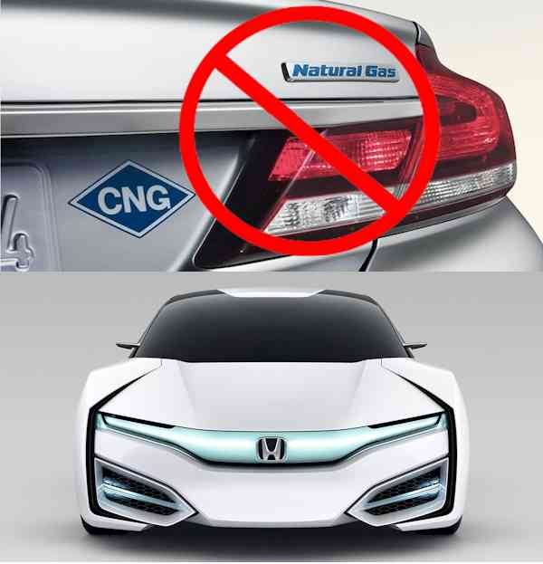 Honda Says No To Natural Gas And Yes To Hydrogen Fuel Cell