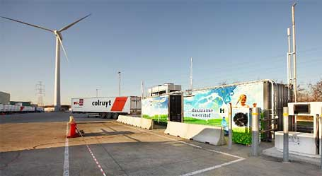 Waterstofnet Hydrogen Fueling Station