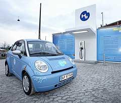 Denmark Hydrogen Car