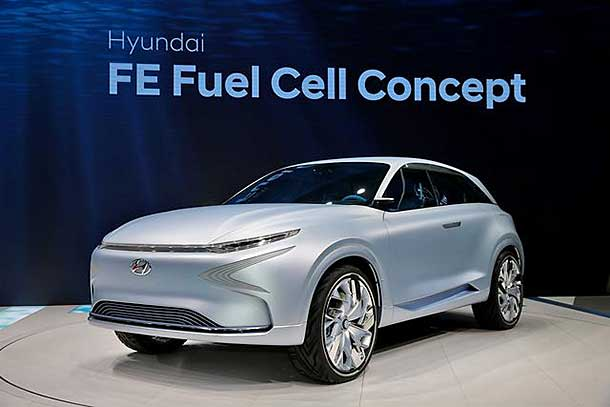 Hyundai Fe Fuel Cell Concept Review Hydrogen Cars Now