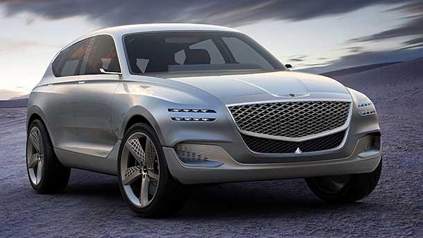 Hyundai genesis gv80 hydrogen fuel cell concept suv for Honda genesis 2017