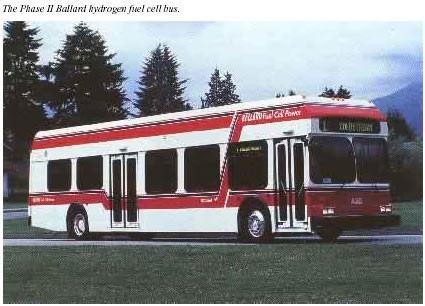 Fuel Cell Bus from New Flyer Industries & Ballard starts
