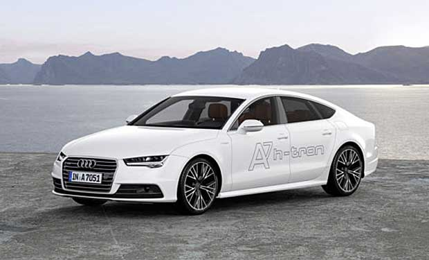 A7H Audi H-Tron Fuel Cell Car