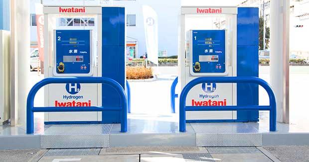 Iwatani Hydrogen Fueling Station
